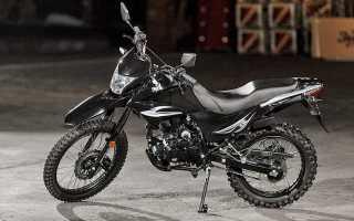 Китайский мотоцикл эндуро 250 кубов