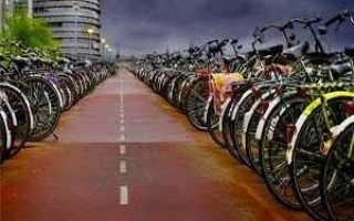 Выбор рамы велосипеда по росту
