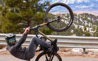 Как ездить на заднем колесе