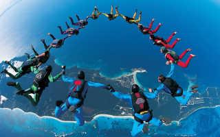 Сколько нужно прыжков с парашютом для разряда