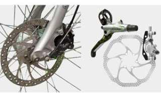 Замена тормозов на велосипеде