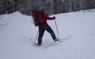 Способ подъема лыжника в гору