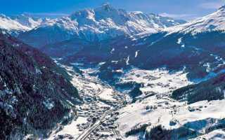 Топ горнолыжных курортов европы