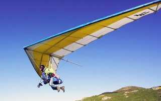 Скорость полета дельтаплана