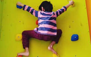 Домашний скалодром для детей