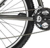 Как одеть цепь на скоростной велосипед схема