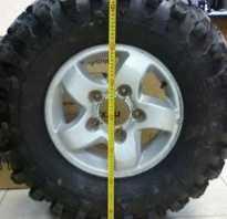 Диаметр колеса 18 дюймов в см
