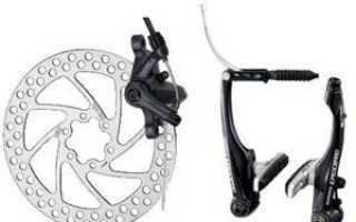 Тормозная система велосипеда