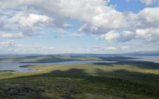 Горы мурманской области
