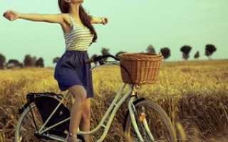 Польза от велосипеда для женщин