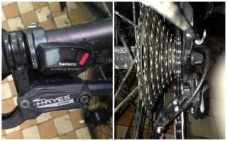 Настройка заднего переключателя скоростей на велосипеде