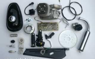 Как поставить двигатель на велосипед