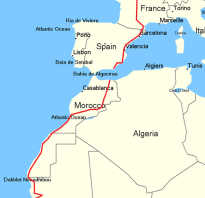 Париж дакар маршрут на карте