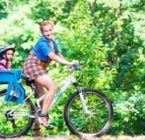Как выбрать велокресло для ребенка