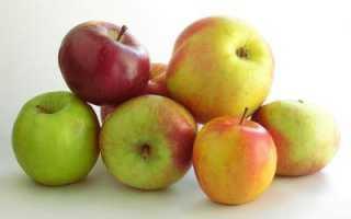Бжу зеленого яблока