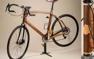 Велосипед из дерева