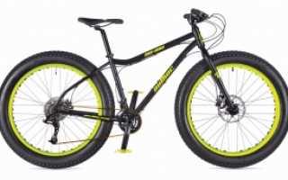 Велосипед с широкими шинами
