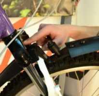 Как поставить крылья на велосипед