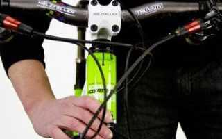 Как поднять руль на велосипеде stels