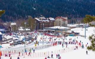 Архыз горнолыжный курорт официальный