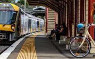 Проезд с велосипедом в электричке