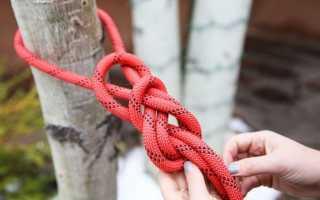 Туристические узлы техника вязания и применение