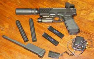 Пружинный пистолет для страйкбола