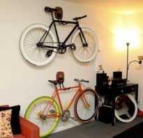 Как хранить дома велосипед