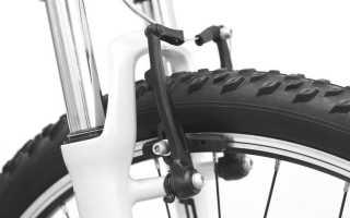 Типы тормозов велосипеда