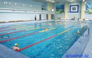 Правила поведения в бассейне