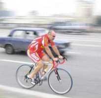 Движение велосипедиста по проезжей части