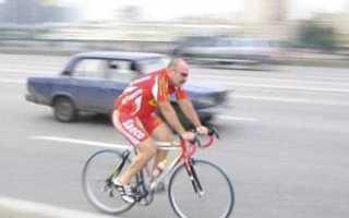 Движение на велосипеде по проезжей части