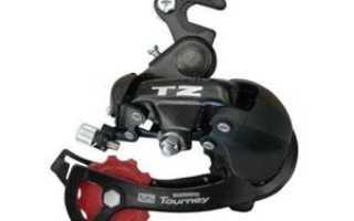 Замена заднего переключателя скоростей на велосипеде