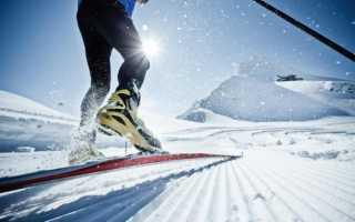 Лыжи для конькового хода
