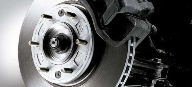 Замена дисковых тормозных колодок