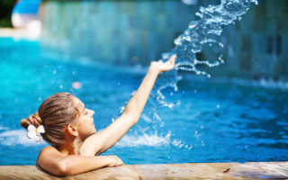 Температура воды в бассейне норма