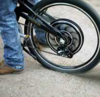 Установка мотора на велосипед