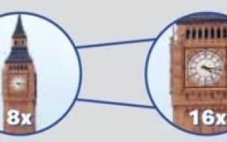 Характеристики биноклей