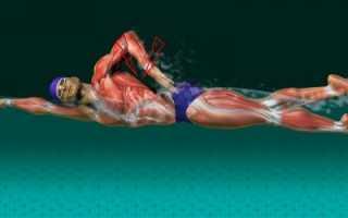 Болит спина после плавания