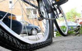 Как вытащить камеру из колеса велосипеда