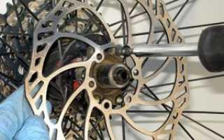 Скрипят дисковые тормоза на велосипеде