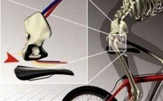 Без седла на велосипеде