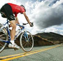 Правильное положение на велосипеде