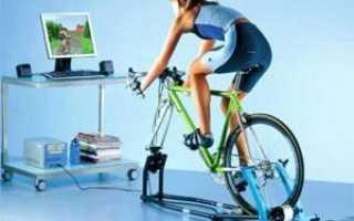 Тренажер для велосипеда под заднее колесо