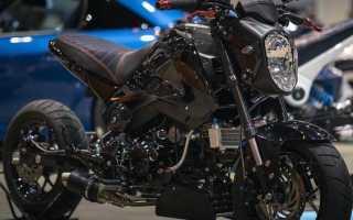 Городской мотоцикл для новичка