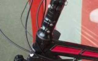 Как увеличить высоту руля на горном велосипеде