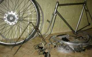 Как разобрать руль на велосипеде