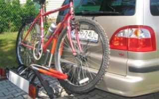Крепление для велосипеда на фаркоп своими руками