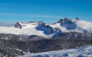 Такман горнолыжный курорт