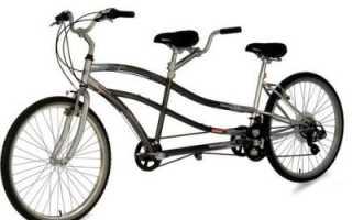 Двухместный велосипед